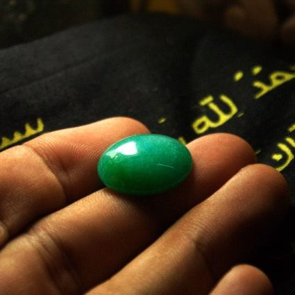 batu cincin hijau panglima uliah